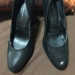 INC high black heels